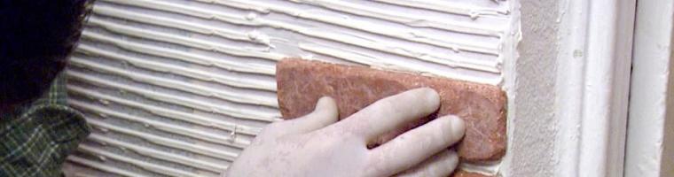 Как класть декоративный камень? Монтаж (укладка) искусственного камня