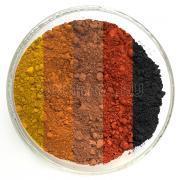 Комплект пигментов 5 цветов вес 1.5 кг