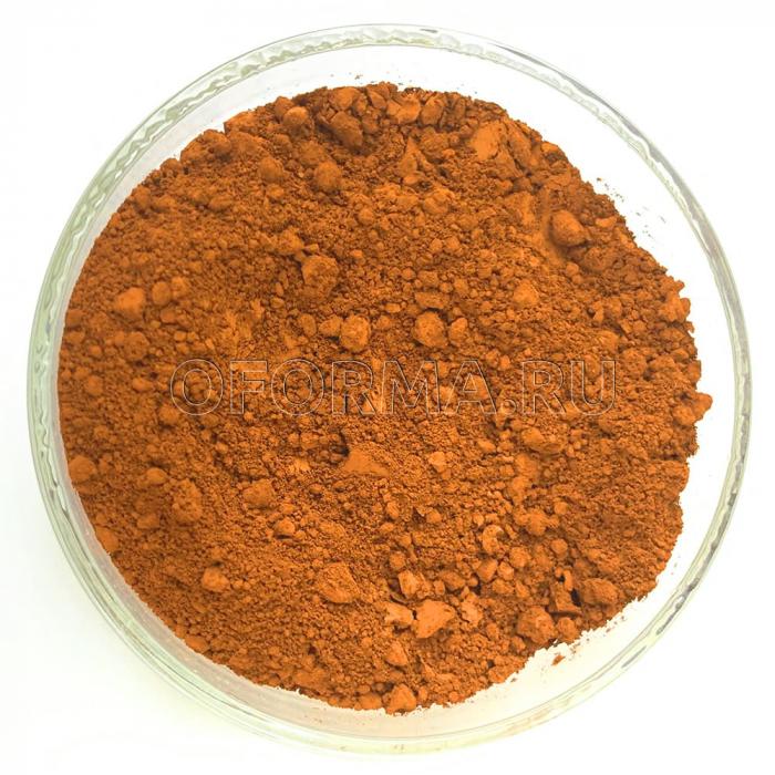 Железоокисный пигмент - Оранжевый