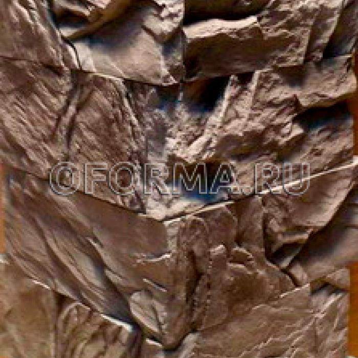 "Угловая форма для камня""Каменный Кирпич/Скала"""