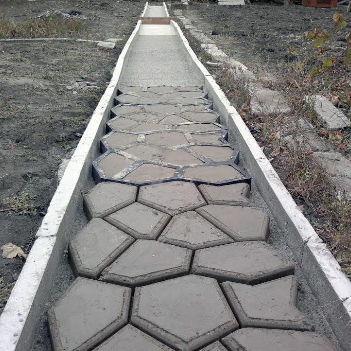 """Форма для тротуарной плитки """"ФТП-1"""""""